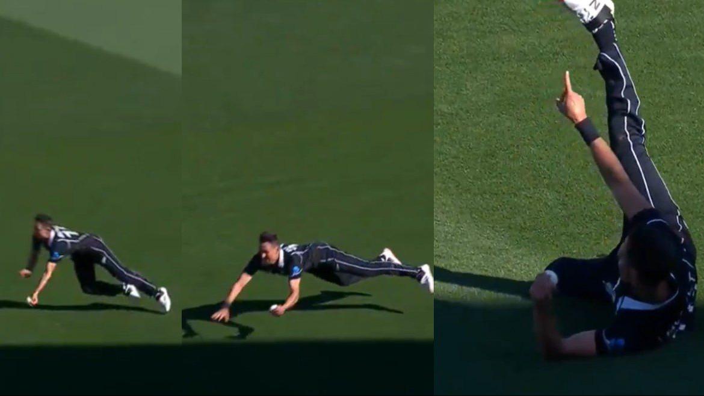 NZ v BAN 2021: Twitterati hail Trent Boult for his one-handed screamer to dismiss Liton Das