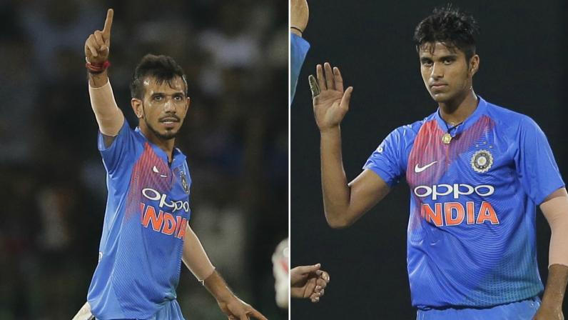 Washington Sundar and Yuzvendra Chahal register career high points in ICC rankings