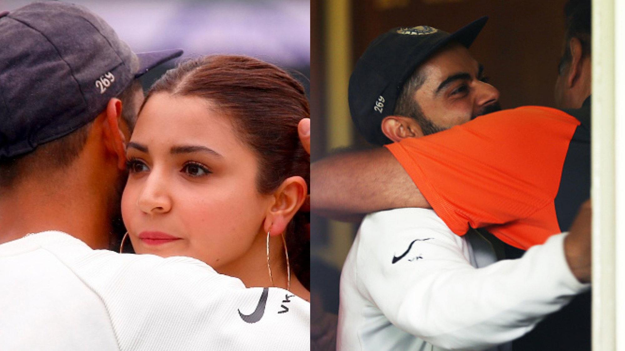 AUS v IND 2018-19: WATCH – Virat Kohli and Indian team's emotional celebration; Virat and Anushka share a hug