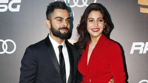 Punjabi artist makes a beautiful painting for Virat Kohli and Anushka Sharma