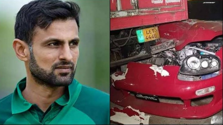 """I'm perfectly alright, grateful for love and care"" says Shoaib Malik after accident scare"