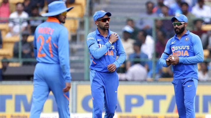 Dhawan hurt his shoulder during the third ODI against Australia   AP