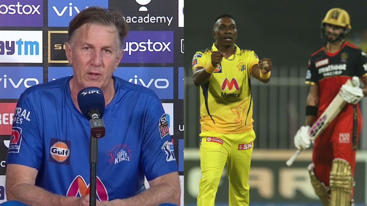 IPL 2021: CSK bowling coach Eric Simons lauds Dwayne Bravo's bowling in team's win over RCB