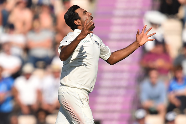 It was revealed that R Ashwin had played in the fourth Test despite injury | Getty