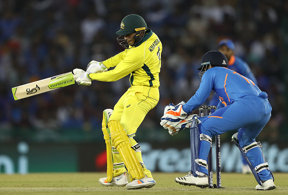 Khawaja followed his century with a brilliant 91   Getty