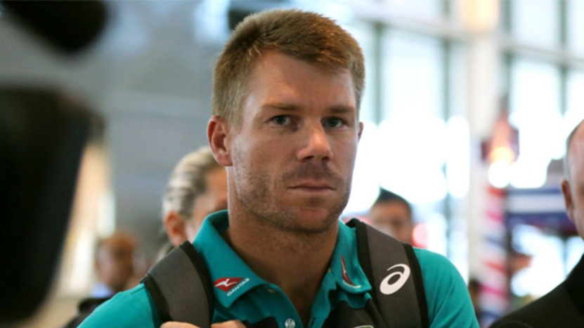 David Warner takes a dig at himself in reply to Daren Sammy, about the St. Lucia ground