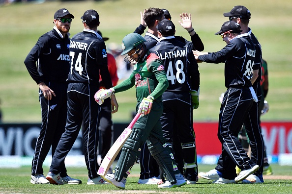 New Zealand won first ODI by 8 wickets | Getty Images
