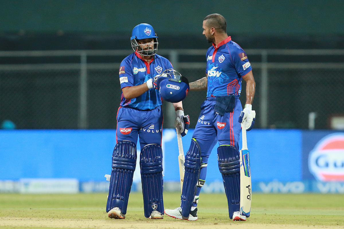 Shaw and Dhawan added 138 runs for the opening wicket | BCCI/IPL