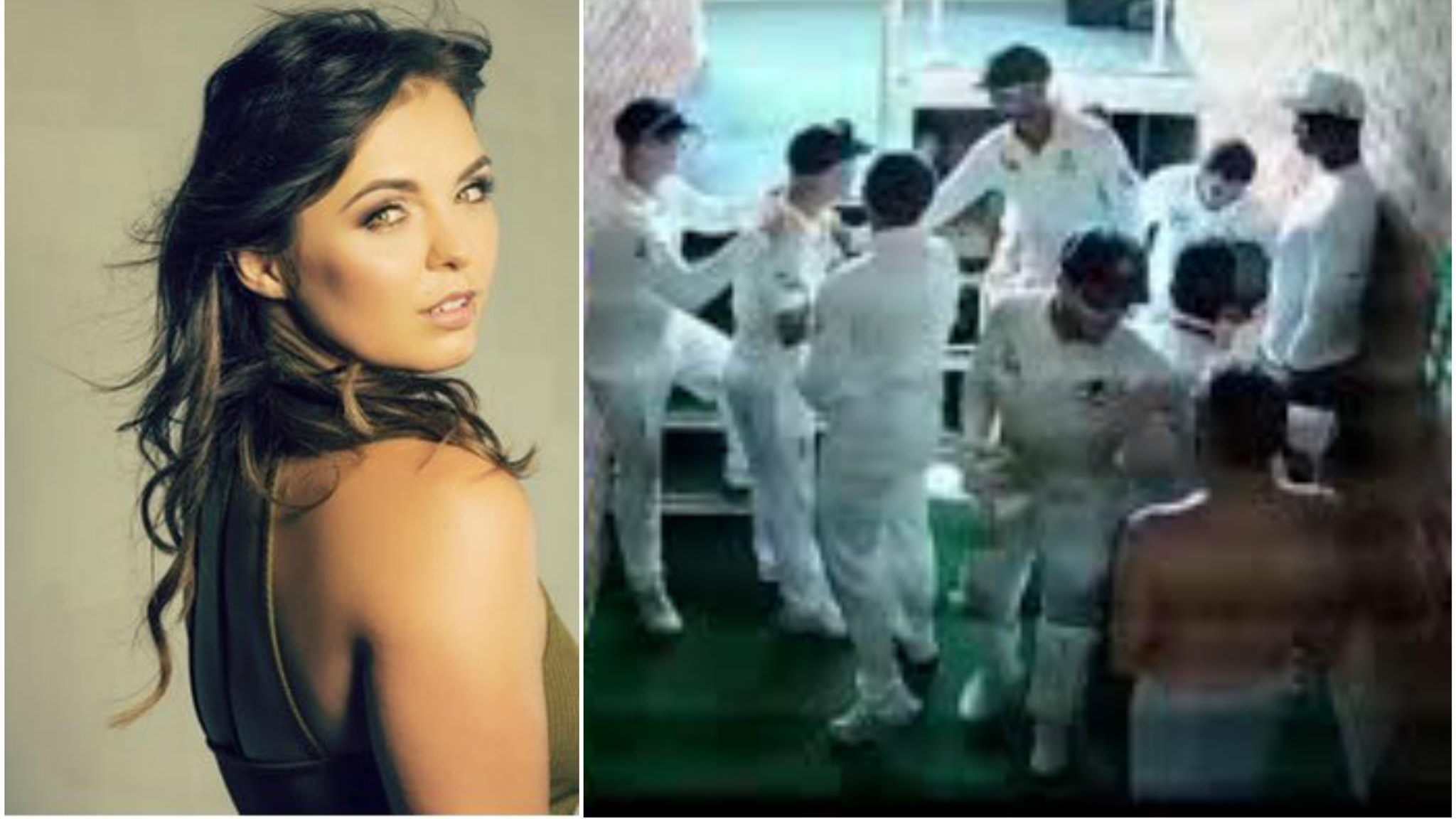 SA v AUS 2018: Faf Du Plessis' wife reacts on seeing her hubby in towel during Warner-De Kock altercation