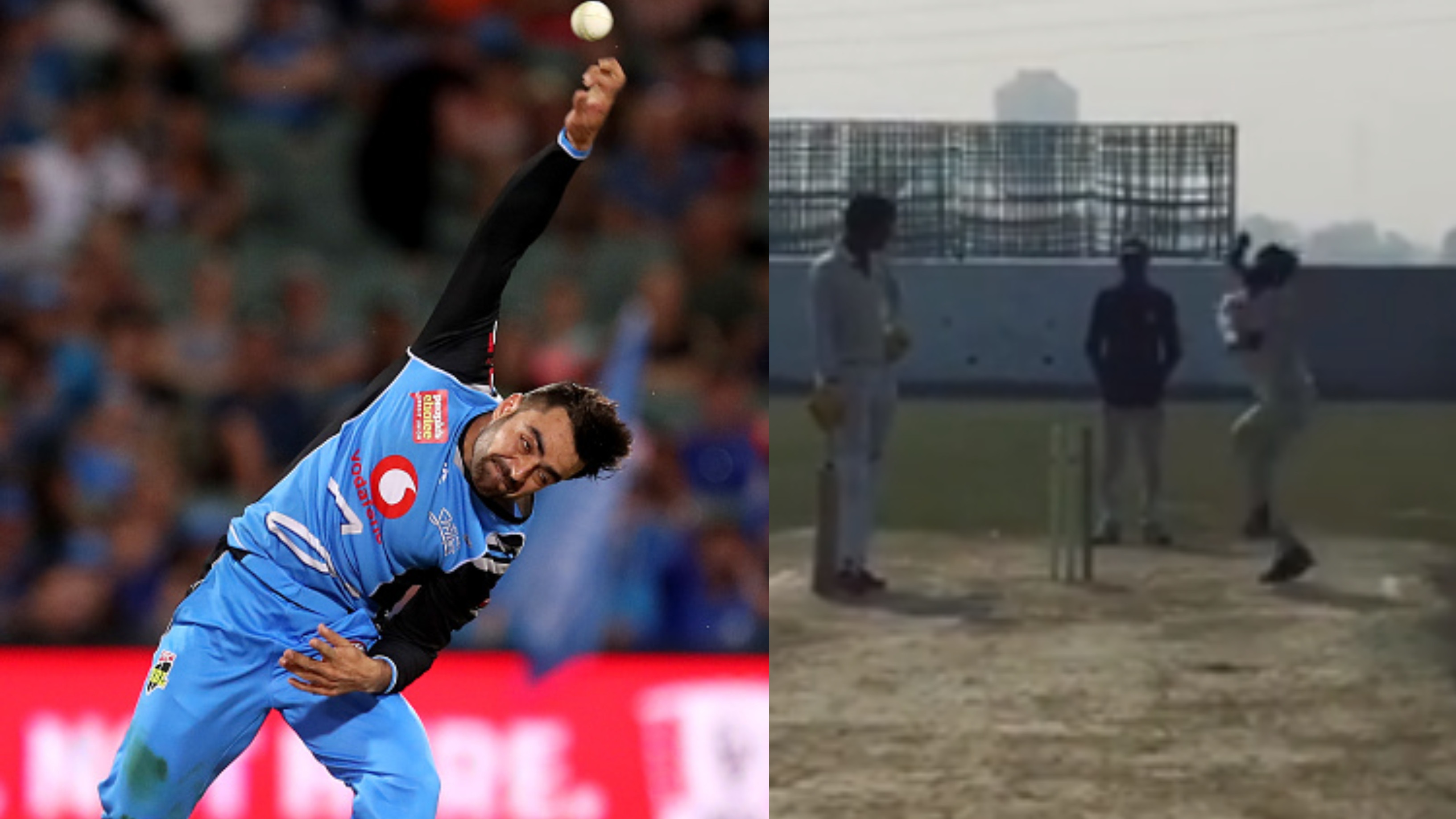 WATCH -Deepak Chahar introduces India's own Rashid Khan