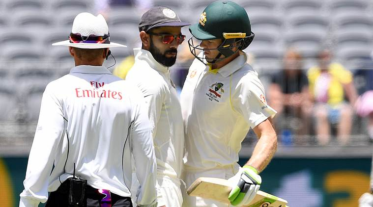 Virat Kohli and Time Paine were caught having a verbal exchange | Reuters