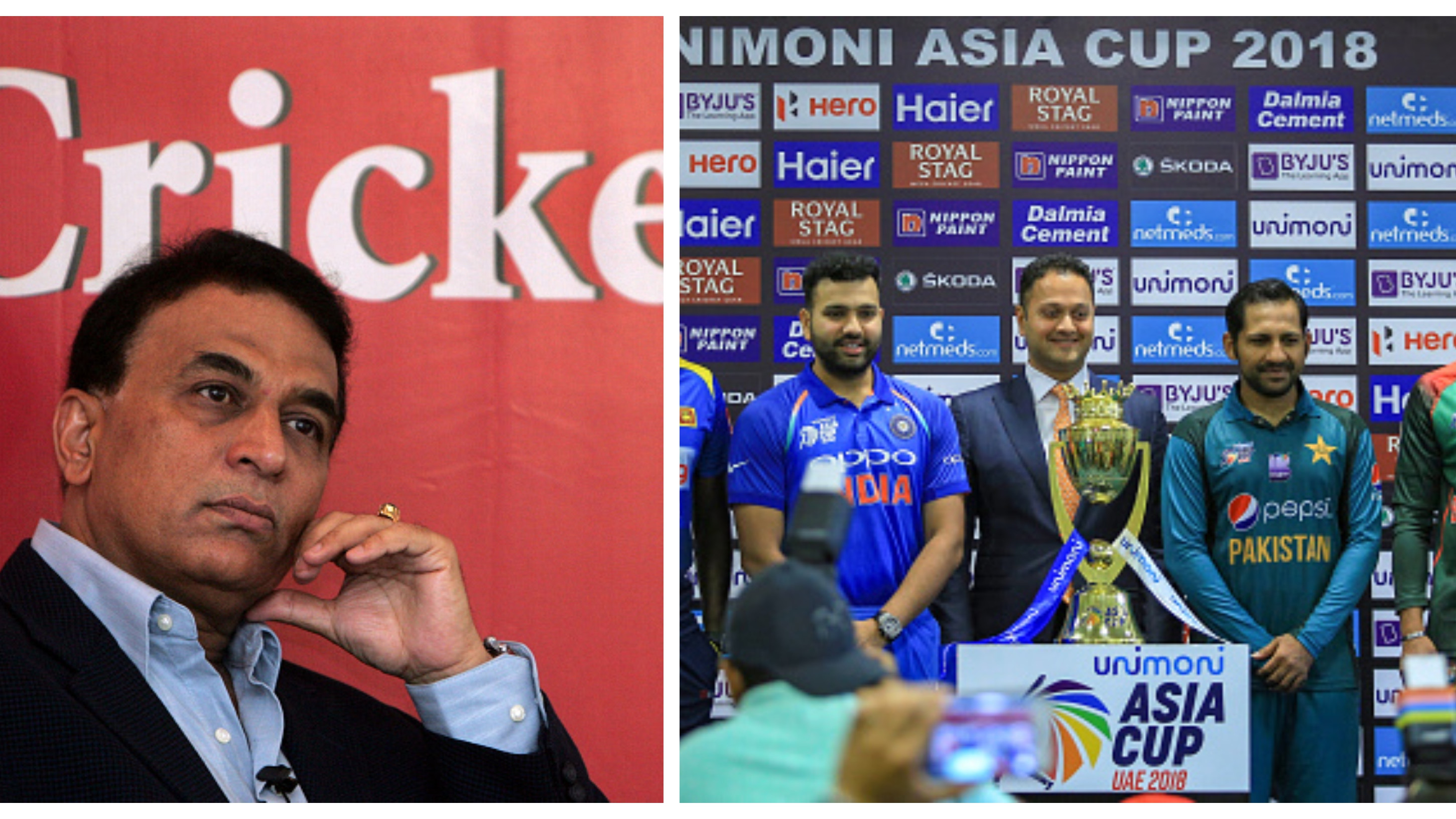 Asia Cup 2018: Sunil Gavaskar picks his favourites for the tournament