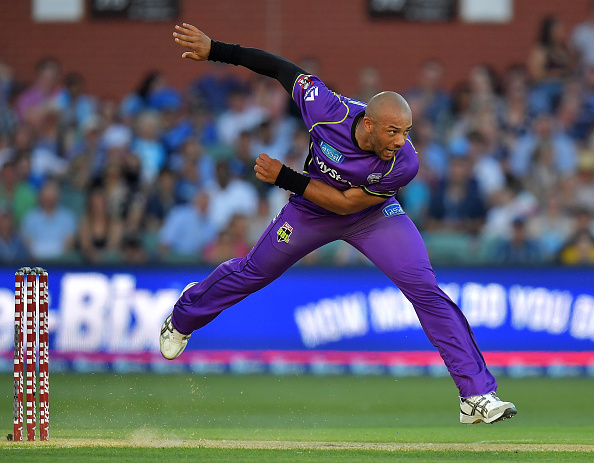It is not possible for fast bowlers like Tymal Mills to bowl a 10-ball over at 93 miles per hour | Getty