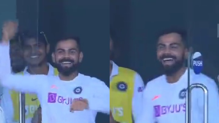 IND v SA 2019: WATCH - Skipper Virat Kohli's priceless reactions to Jadeja's 50 and Umesh's 5 sixes
