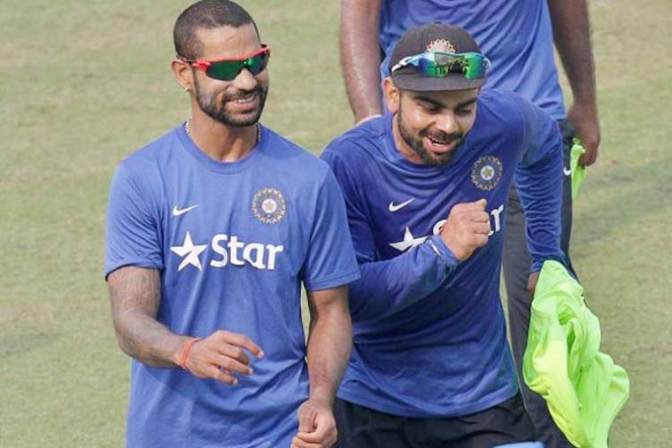 Virat Kohli and Shikhar Dhawan | GETTY (FILE PIC)