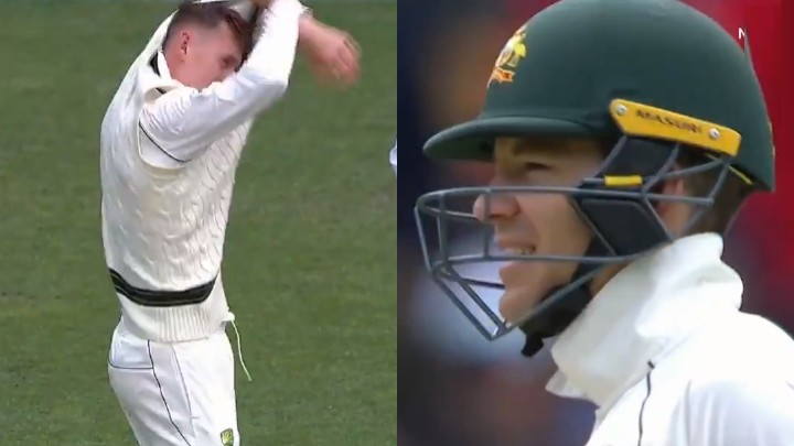 AUS v PAK 2019: WATCH - Tim Paine gets cranky at Marnus Labuschagne after asking him to bowl