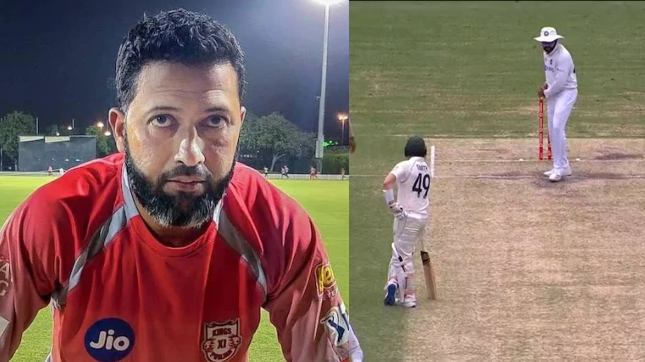 AUS v IND 2020-21: Wasim Jaffer makes fun of Steve Smith after Rohit Sharma's shadow batting