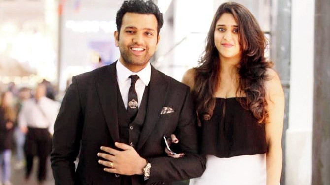 Rohit Sharma calls his wife Ritika Sajdeh 'Shorty' in his latest Instagram post