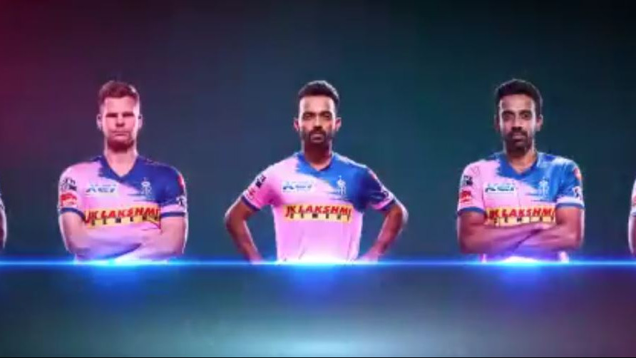 IPL 2019: Rajasthan Royals unveil their new jersey for IPL 12
