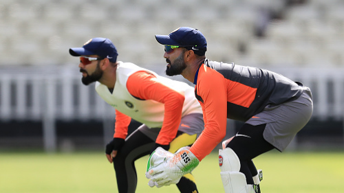 ENG v IND 2018: PICS- Team India trains under the sun in Birmingham