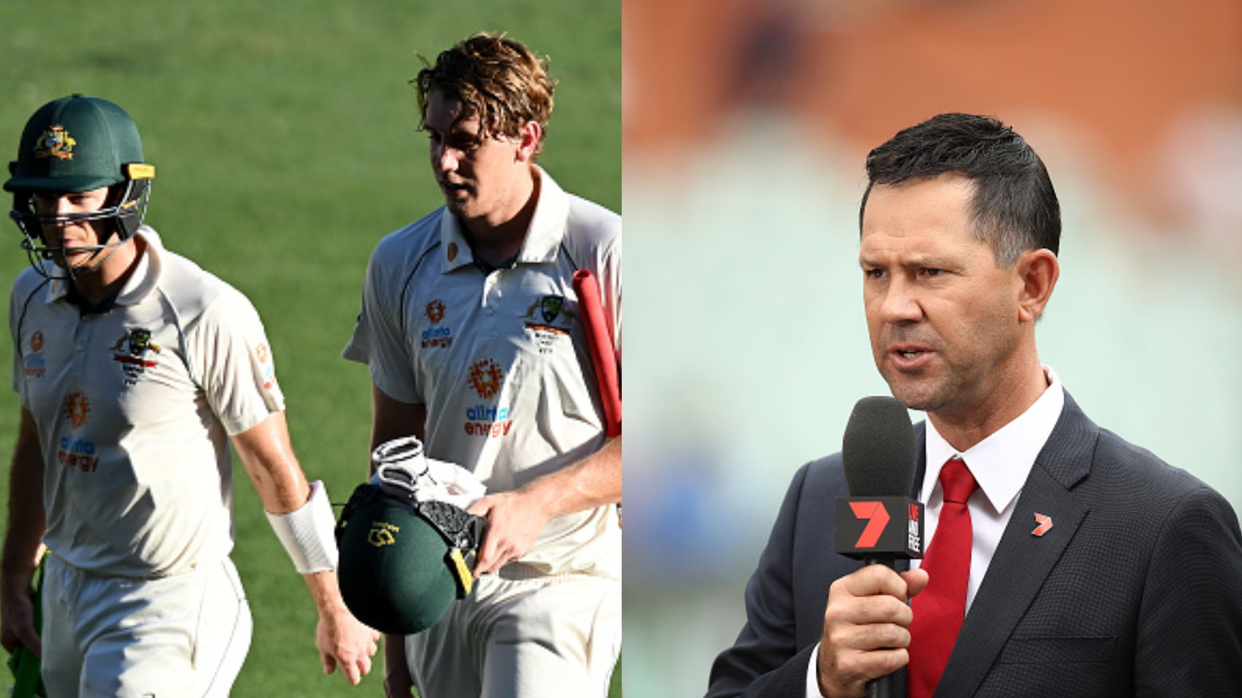 "AUS v IND 2020-21: Ponting says, ""Onus now on crucial Green-Paine partnership to take Australia to advantage"""