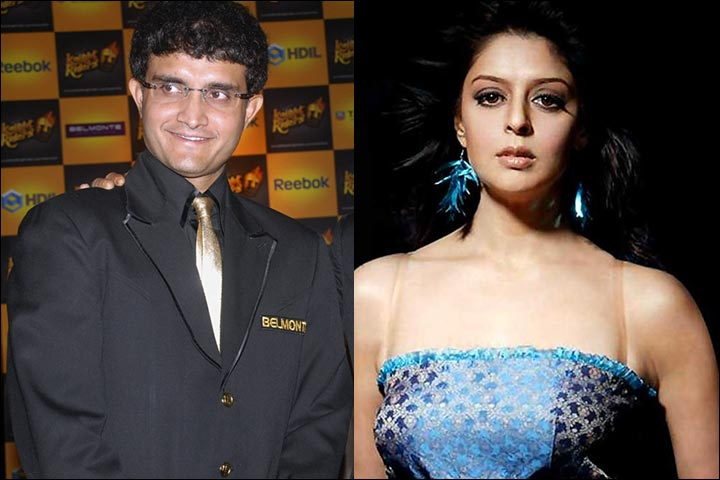 Sourav Ganguly and Nagma were supposedly in a relationship for a long period of time in the 2000s