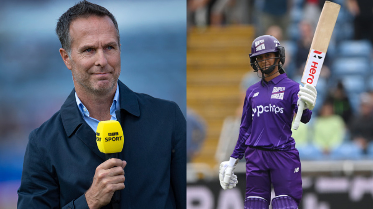 England's Michael Vaughan hails Jemimah Rodrigues as a 'high class player'