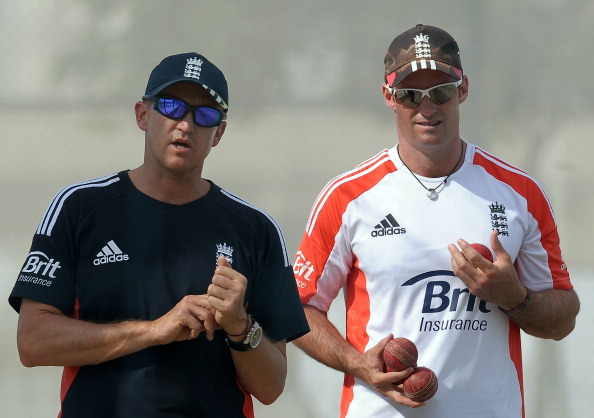 Andy Flower and Andrew Strauss | Getty