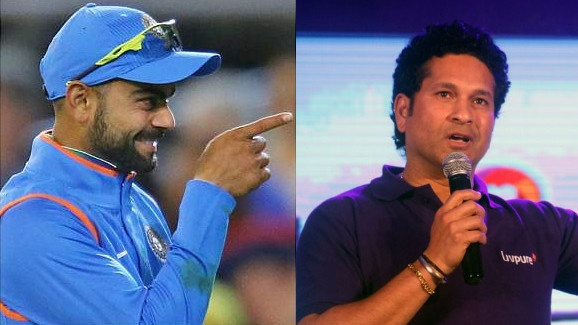 Virat Kohli embarassed with comparisons with Sachin Tendulkar; calls him GOAT