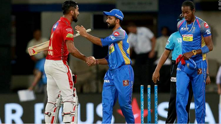 IPL 2018 : Match 40 , RR vs KXIP - Statistical Highlights