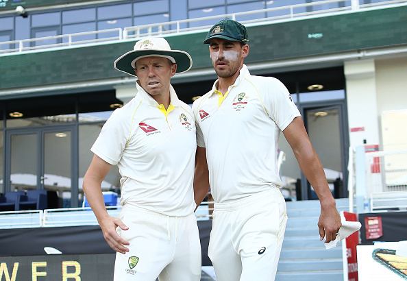 Mitchell Starc and Peter Siddle | Getty Images