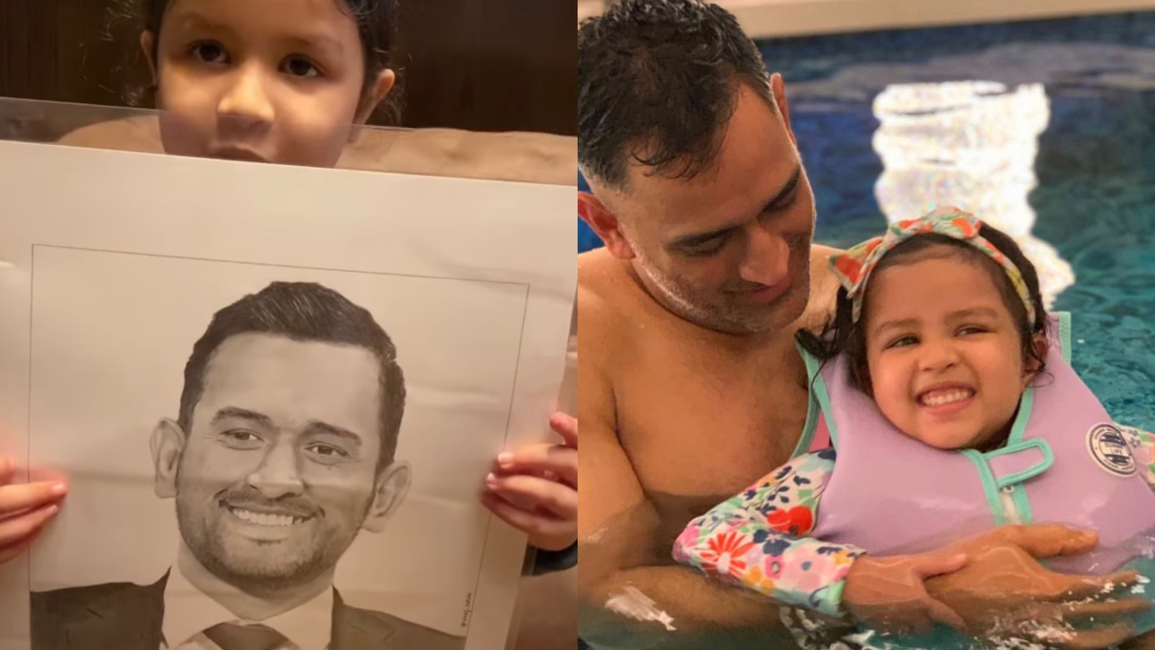WATCH: 'Papa's biggest fan' says MS Dhoni's daughter Ziva