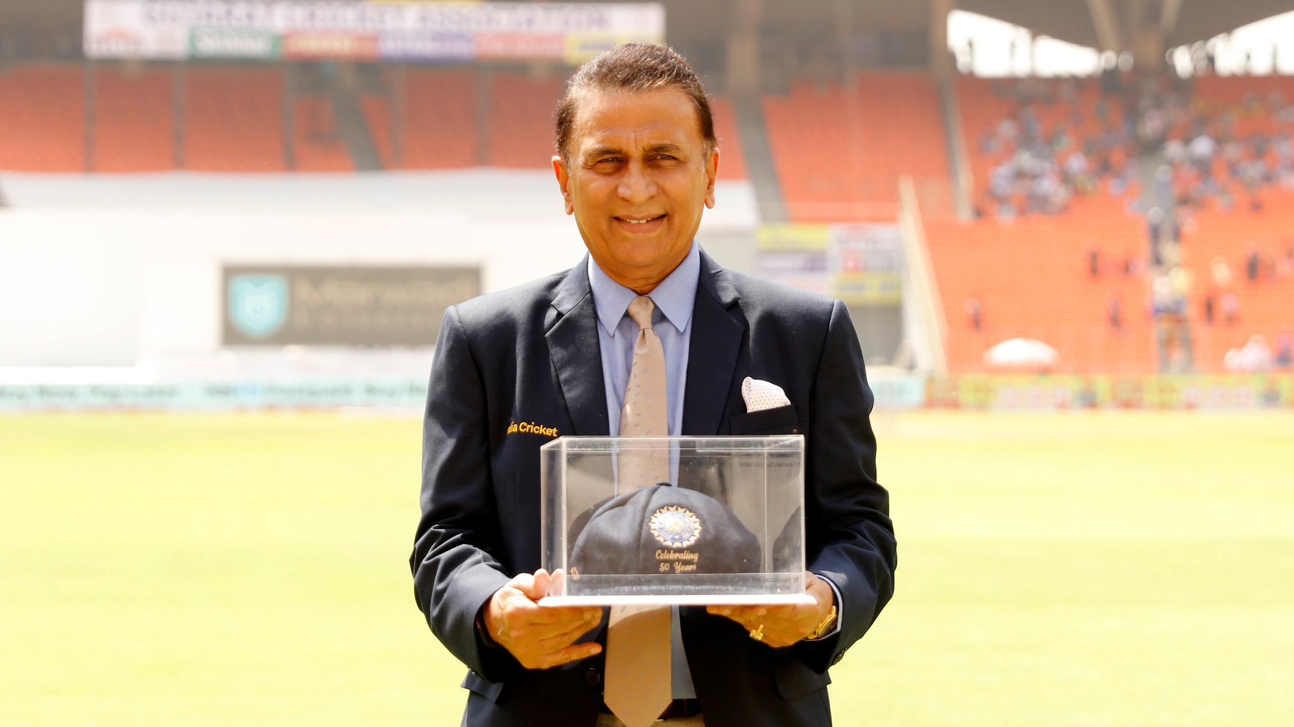 WATCH - Sunil Gavaskar felicitated by BCCI on 50th anniversary of Test debut