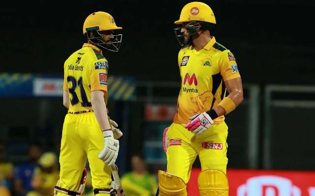 Faf du Plessis and Ruturaj Gaikwad have been in great form for CSK | BCCI-IPL