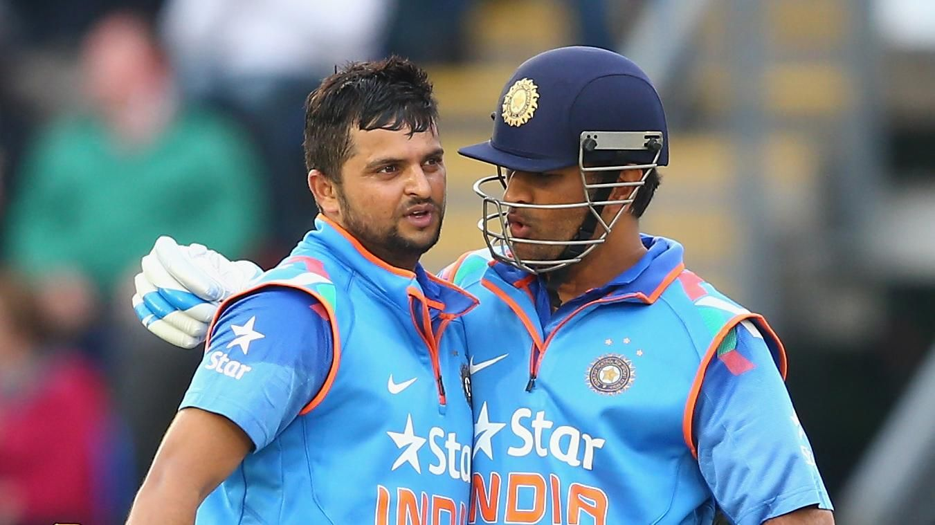 Suresh Raina and MS Dhoni | ESPNCricinfo