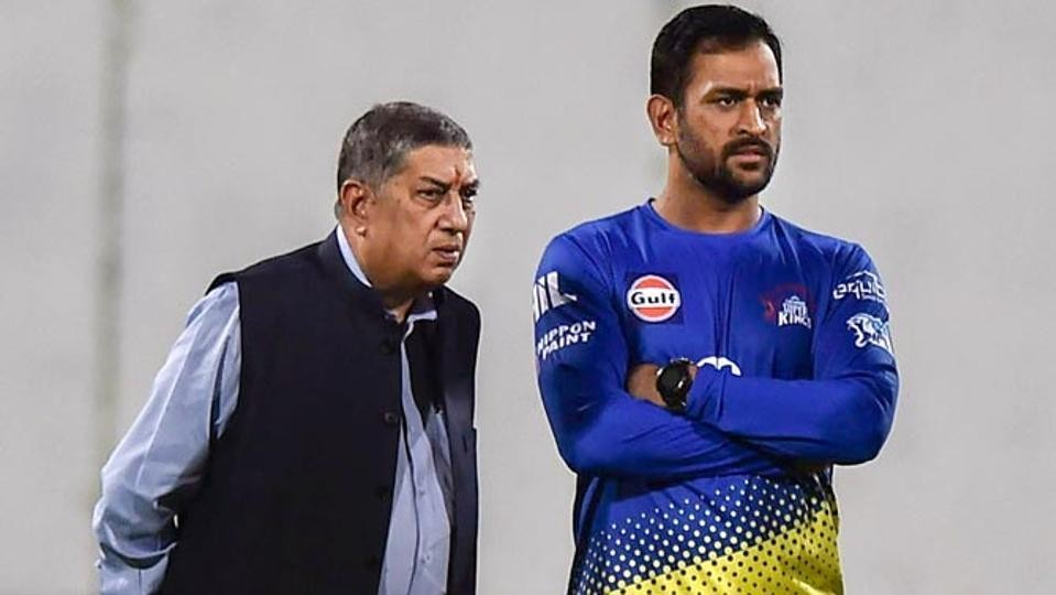 N Srinivasan lauds MS Dhoni and CSK's grit and determination during hard times