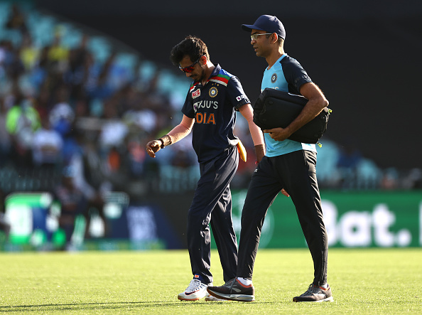 Chahal suffered an injury during first ODI | Getty Images