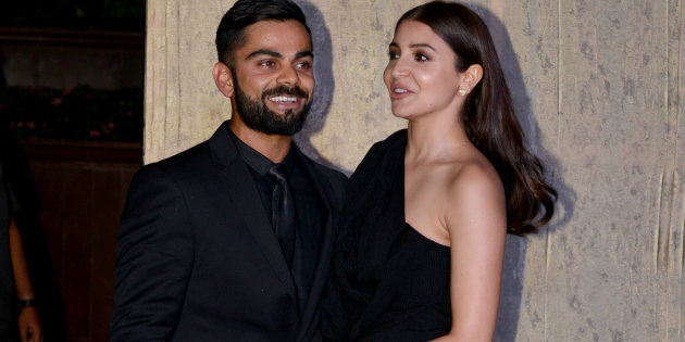 Anushka Sharma with Virat Kohli | GETTY