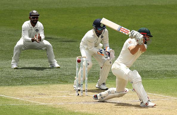 Shaun Marsh was bowled by Ashwin for a single digit score   Getty
