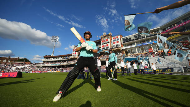 Finch slams ton to take Surrey to a whirlwind win over Middlesex in Vitality T20 Blast
