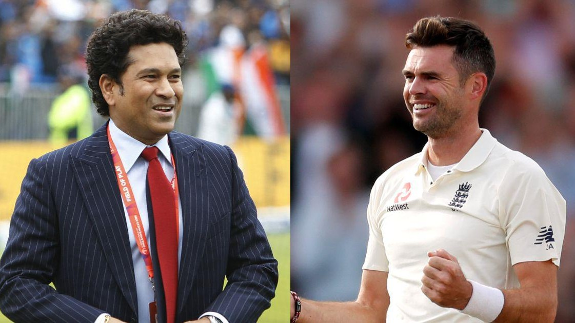 WATCH: 'He is one of the best exponents of reverse swing', Sachin Tendulkar lauds James Anderson