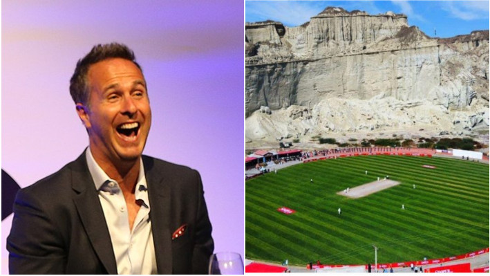 IND v ENG 2021: Michael Vaughan takes a subtle jibe at Indian pitches while praising Pakistan's stadium