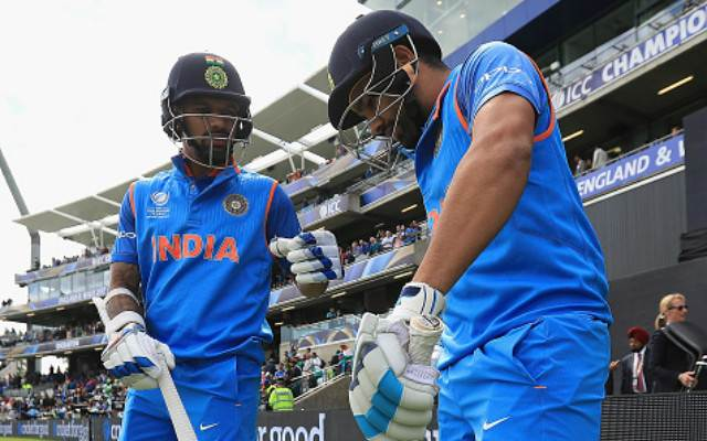 Dhawan and Rohit are expected to open the innings for India | Getty