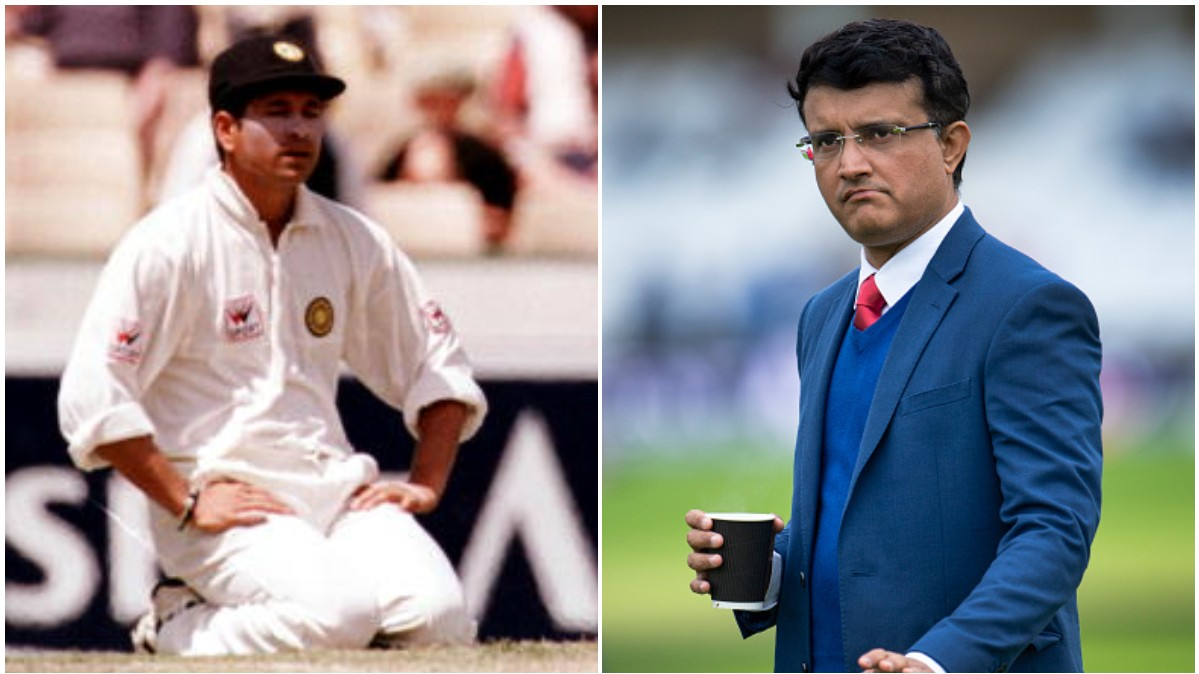 WATCH - Sourav Ganguly recalls the only time Sachin Tendulkar cried in the dressing room