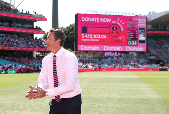 The SCG Test is known as the Pink Test | Getty