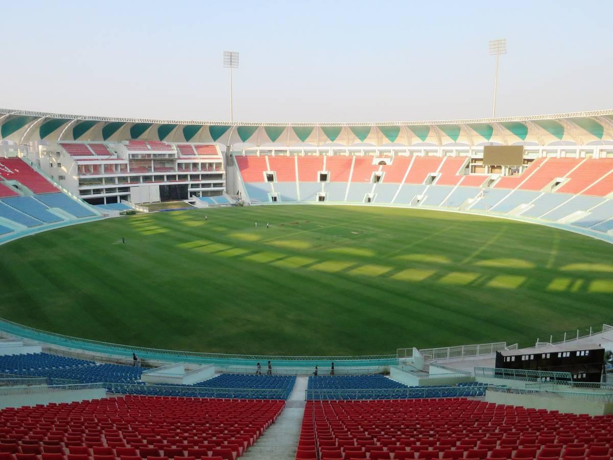 Ekana Stadium in Lucknow