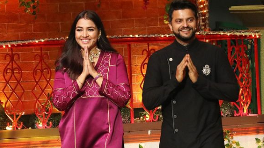 Suresh Raina and wife Priyanka join UP Govt's early childhood learning initiative 'Mission Prerna'
