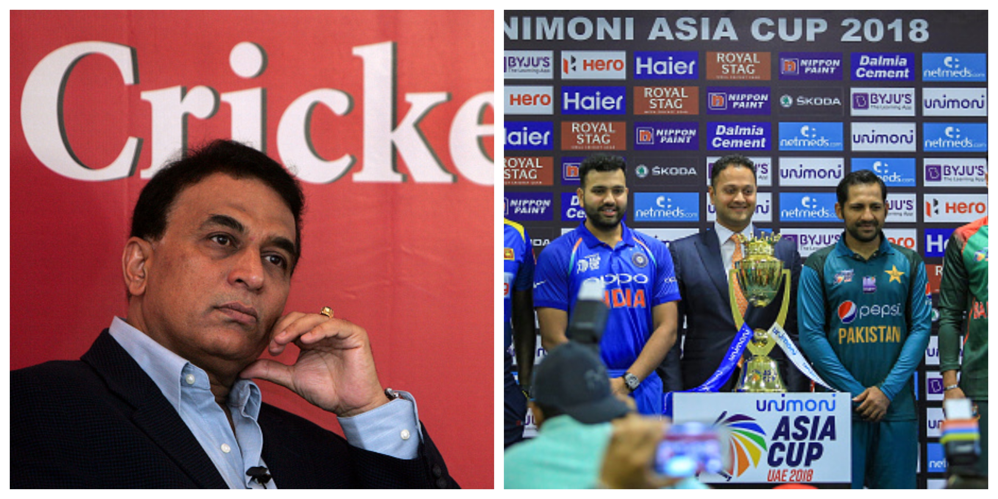 Sunil Gavaskar picked his favourites for the Asia Cup. | Getty