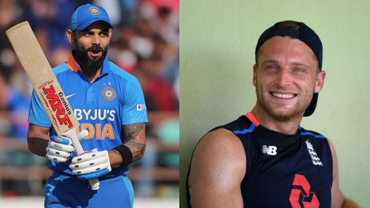 Jos Buttler feels Virat Kohli has top attributes of Lionel Messi, Roger Federer, and Tiger Woods