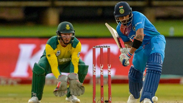 India travelling for three T20Is to South Africa